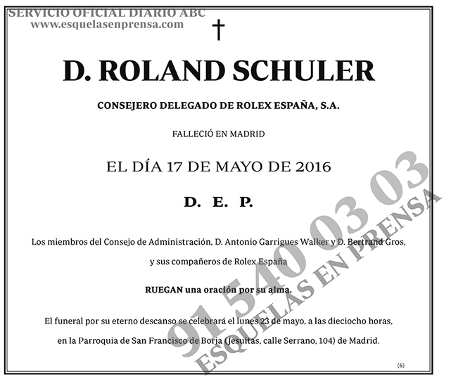 Roland Schuler